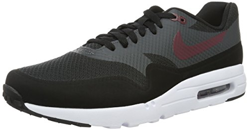 Nike Air Max 1 Ultra Essential, Scarpe da Corsa Uomo, Nero (Black/Night Maroon Anthracite White), 41 EU