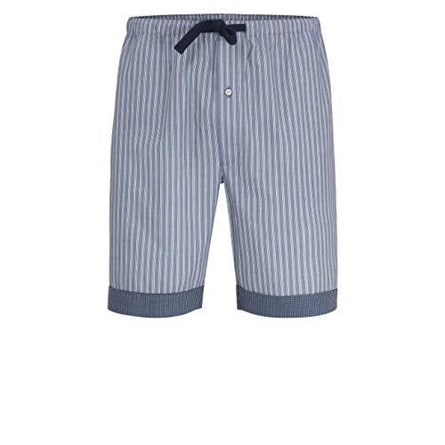 TOM TAILOR für Männer Underwear Pyjama Shorts Blue-medium-Vertical Stripe, 50/M