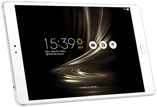Asus ZenPad 3S Z500M-1J037A 24,6 cm (9,7 Zoll 2k Display) Tablet-PC (MediaTek 8176 Hexa-Core, 4GB RAM, 128GB Datenspeicher, Android 6.0) silber