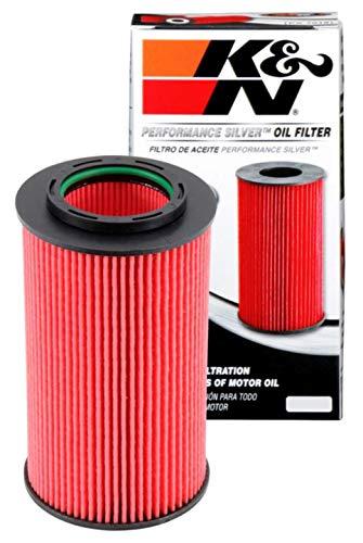 K&N Premium Oil Filter: Designed to Protect your Engine: Fits Select 2006-2016 HYUNDAI/KIA (Genesis, Coupe, Sedan, Azera, Santa Fe, Sonata, Entourage, Veracruz, Amanti, Sedona, Sorento), PS-7022, Multi