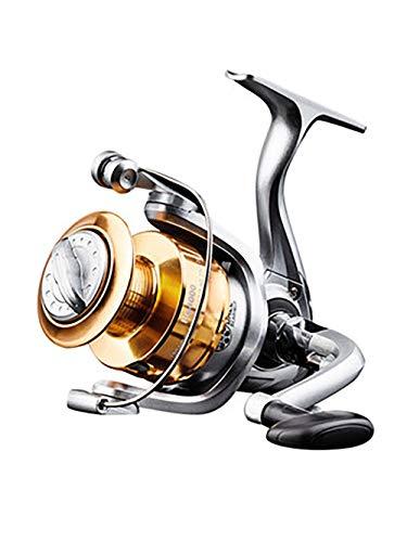 LXJ-KLD Angeln Rad Spinnrad Vollmetall Seegestänge Rad, Wurfscheibe Seegestänge Stange Rad Fisch Rad, schnell Meeresrolle radrad maximale Leistung 15kg werfen