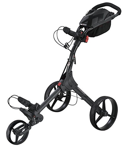 Big Max IQ+ Golftrolley Cart 3 Rad Schwarz