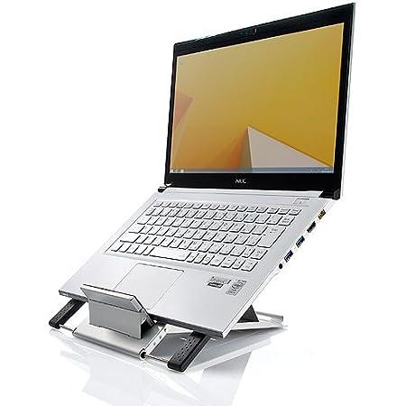 サンワダイレクト ノートパソコンスタンド iPadスタンド エルゴノミクス ドイツのiFデザイン賞受賞 100-CR004 [フラストレーションフリーパッケージ (FFP)]