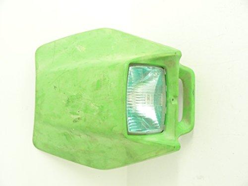 01 Kawasaki KDX 220 220R Used Headlight Light Cover Plastic 23005-5040-6W