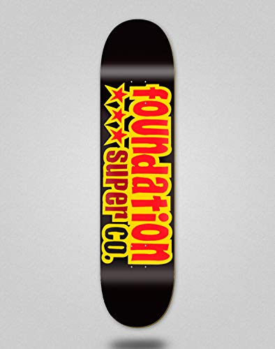 Foundation Skateboard Skateboard Deck Star Black 8.13