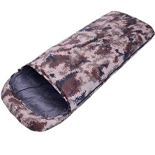 CATRP-Sac de couchage Adulte Automne Et Hiver Extérieure en Plein Air Garder Au Chaud Camping Portable Un Personne (Color : B)