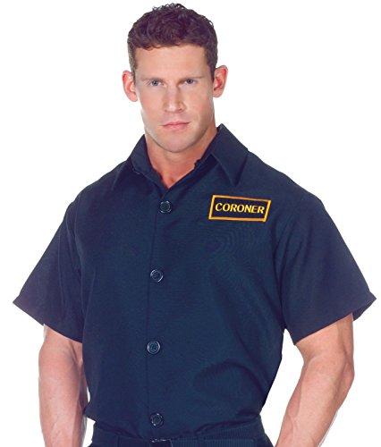 Costumes Pour toutes les occasions UR29471XL coroner shirt Ad xlarge 46-48