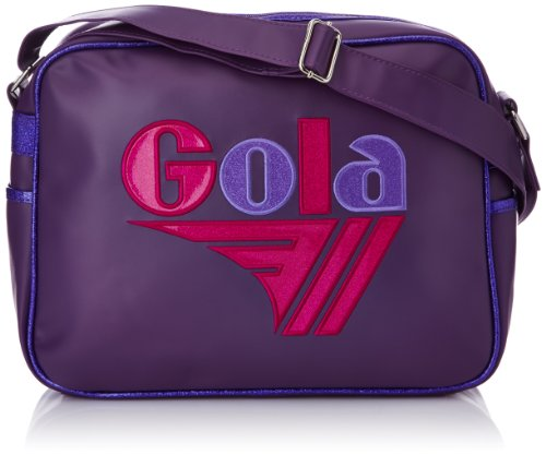 Gola Classics, Redford Glitter, Organizer-Tasche, Unisex für Erwachsene, Mehrfarbig - Viola Rosa Multi - Größe: 33x42x18 cm