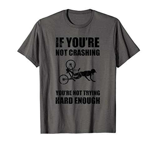Funny Mountain Bike Crash Bicycle Accident Injury T-Shirt