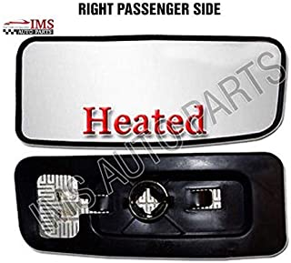 Mercedes Sprinter Wing Mirror Lower Small Glass Push Heated with Backig Plate Right Paseenger Wide Blind Spot 2007 to 2016