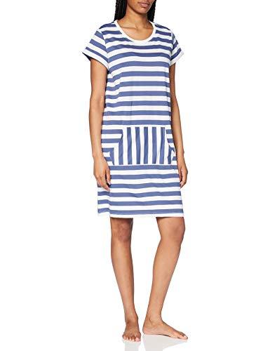 ESPRIT Bodywear Damen DEENAH CAS NW Nightshirt Nachthemd, 100, 38