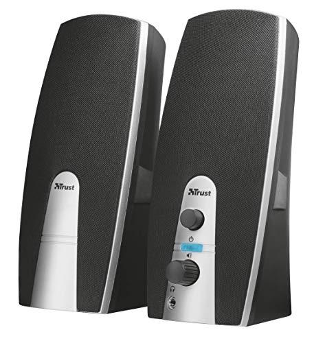 Trust Mila - Set de Altavoces (2.0, 10 W, alimentados por USB),...