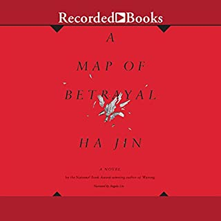 A Map of Betrayal audiobook cover art