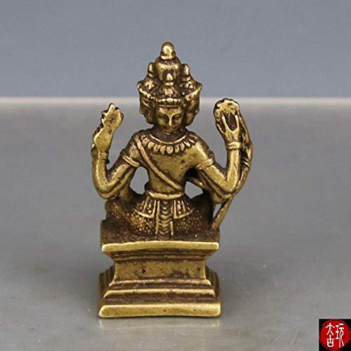 ZFLL Estatua de Buda Maestro del Templo Buda...