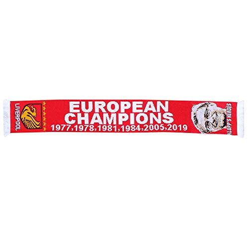 Liverpool 2019 Champions League Winners Schal (100% Acryl)