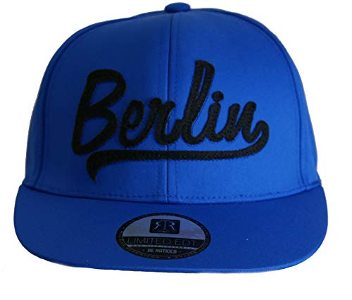 Robin Ruth Lenny Berlin - Gorra plana, color azul