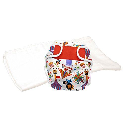 Bambino Mio, miosoft zweiteilige windel (probepackung), zirkus, Größe 1 (<9kg)