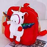 YeLinjn Exquisita mochila de unicornio para bebé, bolsa de animales de peluche...