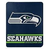 Northwest NFL Seattle Seahawks 50x60 Fleece Split Wide DesignBlanket, Team Colors, One Size