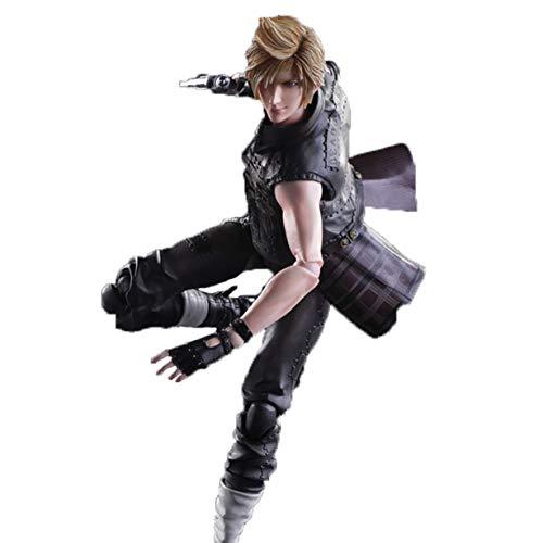 Final Fantasy Prompto Argentum Aktion Vinyls PVC Figure Norm