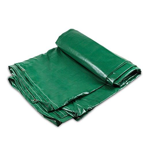 Dekzeil PVC Waterdicht Dekzeil Grondplaat Covers Voor Camping, Vissen, Tuinieren 380g/m2 Dikte 0.38mm, Multi-size Optioneel 6 * 6m