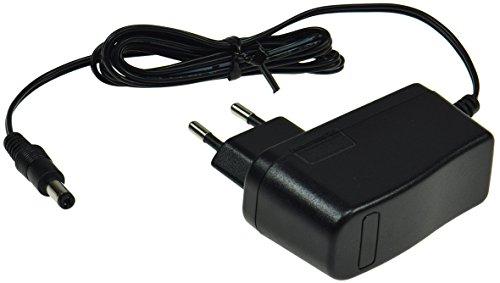 Stekker voeding oplader stroomvoorziening CTN universeel inzetbaar voor LED Stripe Notebook Reader lampen lampen, 12V= 12Watt / 1A, zwart, 1