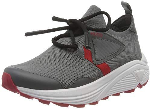 HUGO Horizon_Sock_PU, Zapatillas Mujer, Talla Mediana 31, 39 EU