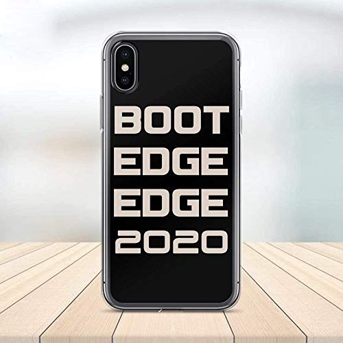 Boot Edge Edge Phone Case Mayor Pete Buttigieg 2020 Cell Plastic Сlear Case for Apple iPhone X/XS/XR/XS Max 6/7/8 / Plus 6S 11 pro Protector Protective Cover Art Design (iPhone XR)