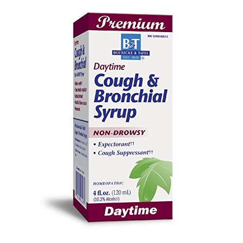 Boericke & Tafel - Cough & Bronchial Syrup 4 oz [Health and Beauty]