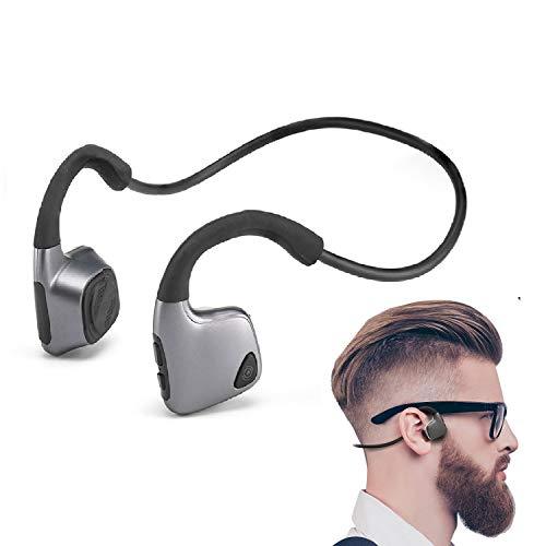 Auriculares Conduccion Osea Bluetooth Deportivos inalámbrico Auriculares Sweatproof con micrófono para deportes