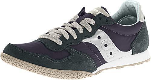 Saucony Originals Men's Bullet Classic Sneaker,Navy/Gray,10 M US