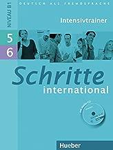 Schritte International: Intensivtrainer MIT Audio-CD 5 & 6 (German Edition)