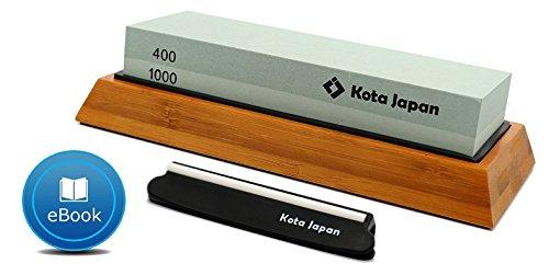 Kota Japan Combination Dual Sided 400-1000 Grit Diamond Knife Sharpener...