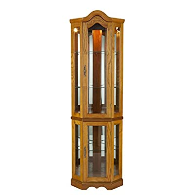 Home Decorators Collection Vitric Lighted Curio