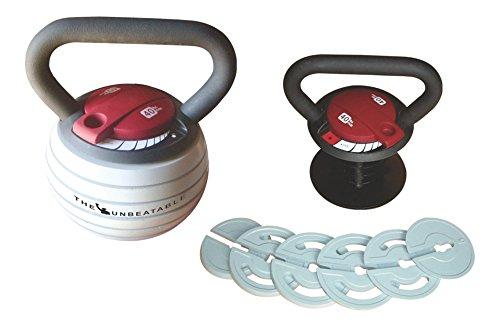 USI 787AKB Adjustable Kettlebell 10-40 lbs (5-20 kgs appx)