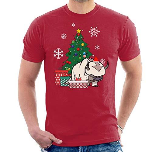 Appa Around The Christmas Tree Avatar The Last Airbender Men's T-Shirt