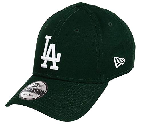 New Era Los Angeles Dodgers 9forty Adjustable cap League Essential Dark Green/White - One-Size