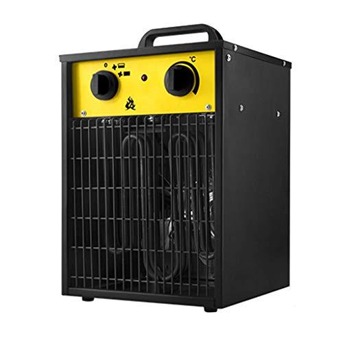 Calentador De Ventilador Industrial De 3Kw Calentador Eléctrico De Baja Energía Cuadrado De Alta Potencia Taller Garaje Calentadores De Ventilador De Oficina Energía Ajustable Y Control De Ter
