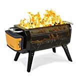 BioLite FirePit Outdoor Smokeless Wood & Charcoal Burning FirePit and Grill (FirePit)