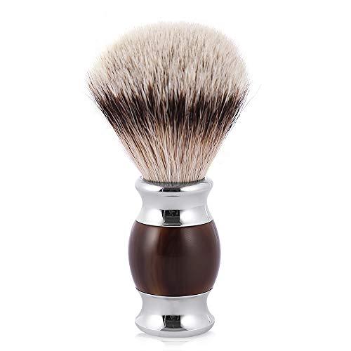 First Class Silvertip Badger Hair Shaving Brush for Wet Shave (Resin Handle)