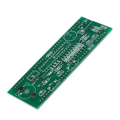 DAUERHAFT Componentes del Kit de Reloj electrónico Profesional Multifuncional Estable Kit de Reloj electrónico Componente de Pantalla LED Grande