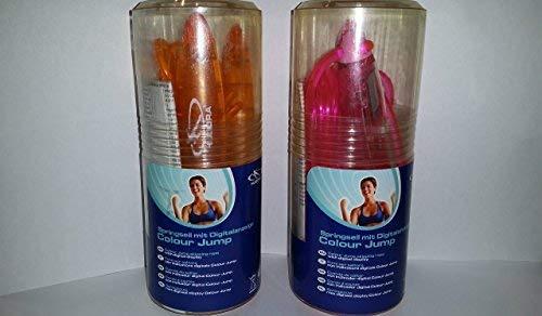 HUDORA Digitales Springseil orange Kalorienzahl Stoppuhr Sprungzähler 2,70 m OVP mit BOX NEU WOW - All-In-One-Outlet-24 -