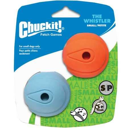 Canine Hardware Chuckit Whistler Ball Small