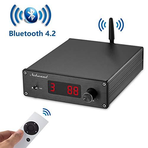 Nobsound PGA2310 Bluetooth 4.2 Audio Receiver Hi-Fi Preamplifier Remote Control Vorverstärker