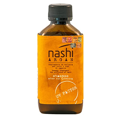 NASHI ARGAN After sun shampoo - shampoo doposole con filtro UV - 200ml
