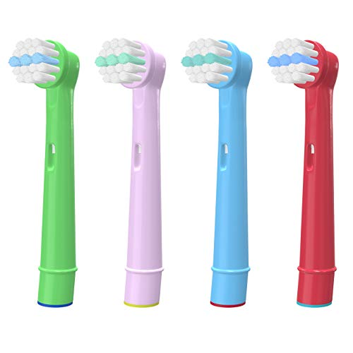 WuYan Cabezales de cepillo de dientes para niños compatibles con cabezal de...