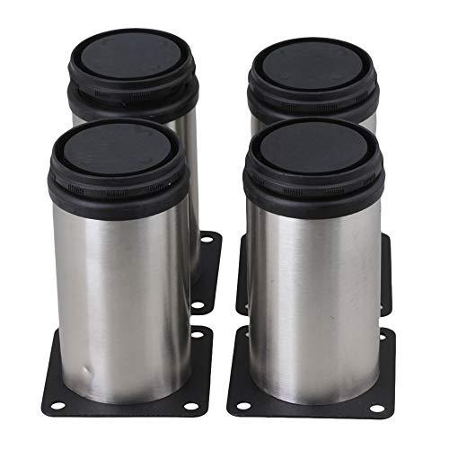 BQLZR Stainless Steel Kitchen Adjustable Feet Round 2