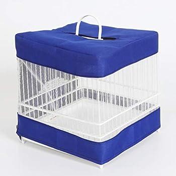 POPETPOP Jupe de Cage à Oiseaux - Couverture de Cage à Oiseaux Attrape-Cage à Oiseaux Maille Filet Garde-Graine Couverture Décoration de Coquille