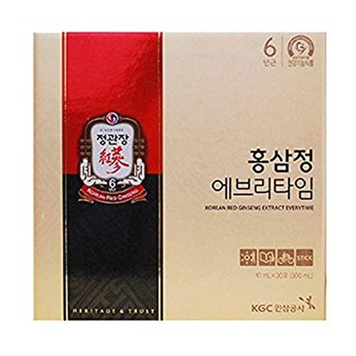 Cheong Kwan Jang coreano rojo extracto de ginseng todos los tiempos (10 ml x 30 bolsas)