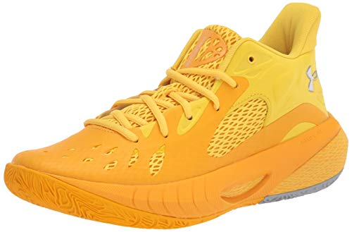Under Armour - HOVR Havoc 3 - Zapatillas de baloncesto, amarillo (Steeltown Gold (700)/Taxi), 49 EU